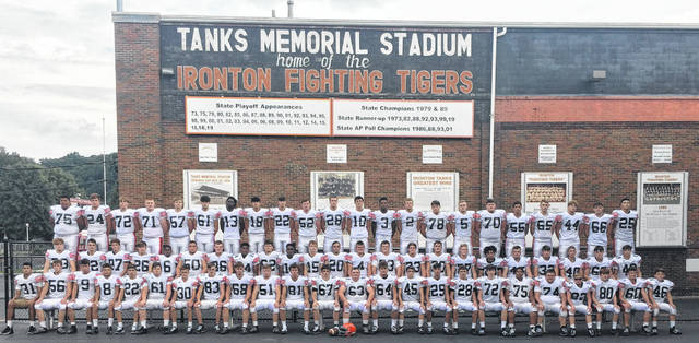 2020 Ironton Fighting Tigers varsity football team
