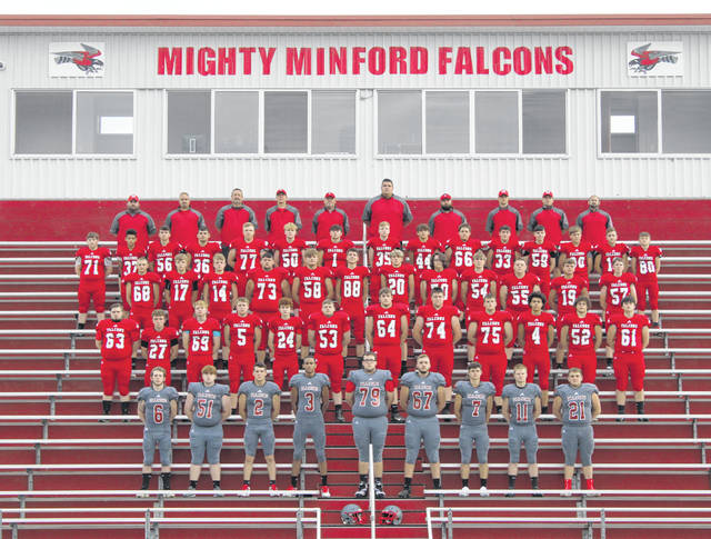 2020 Minford Falcons varsity football team