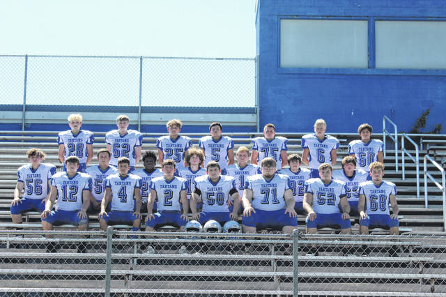 2020 East Tartans varsity football team