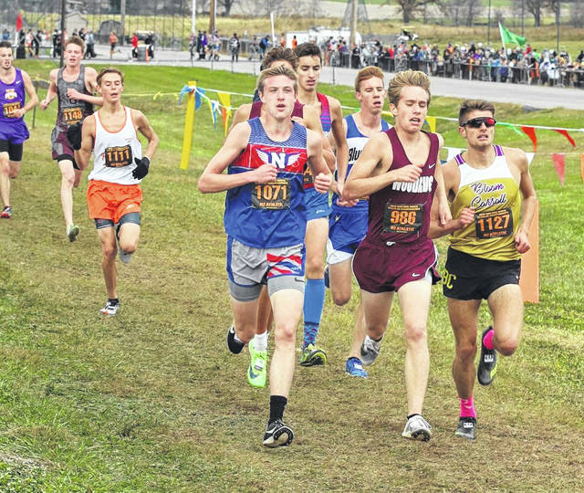 Northwest's Landen Smith captured all-Ohio honors by finishing in 11th-place in last season's Division II boys state cross country race at National Trail Raceway. Smith and his Mohawk teammates are aiming for a repeat trip to the state cross country meet.