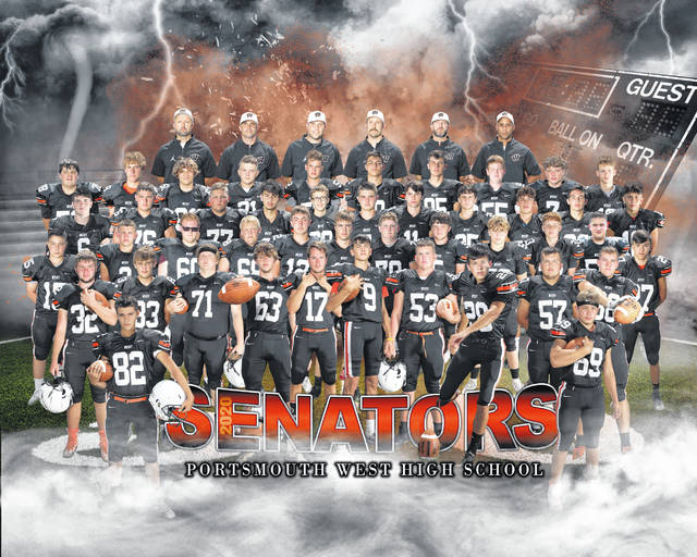 2020 Portsmouth West varsity football team