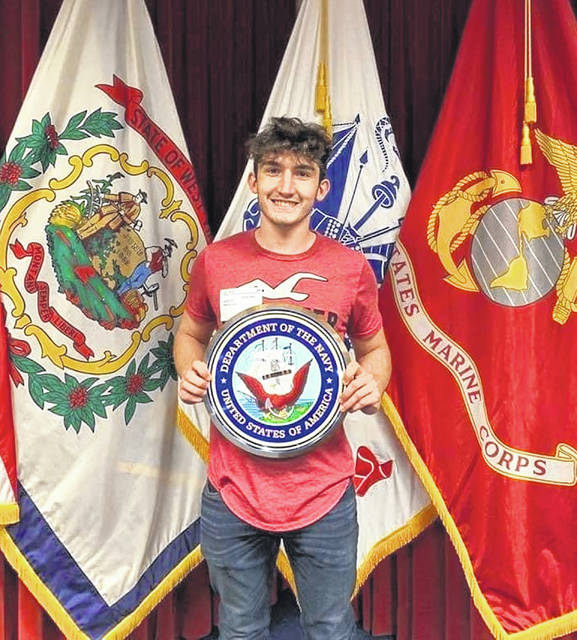 Trent Hayslip will serve his country in the United States Navy