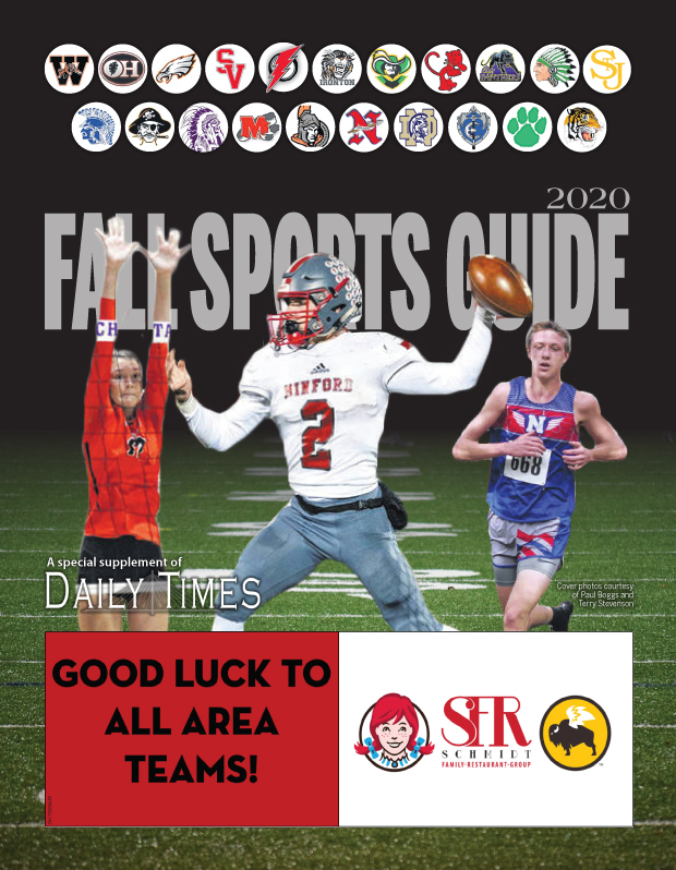 2020 Fall Sports Guide