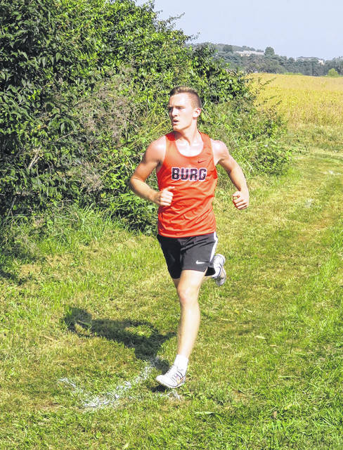 Wheelersburg junior David Brown finished seventh in the boys high school race as part of Saturday's Waverly Invitational cross country meet.