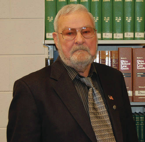 Mr. Carl Crabtree served on the Valley School Board for 52 years.