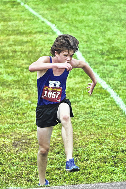 Portsmouth freshman Charlie Putnam outpaced the 40-runner field at the Ohio Valley Conference's championship cross country meet with a first-place time of 18:20.