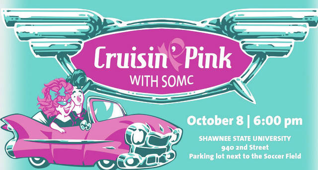 SOMC'S Light it up pink for breast cancer awareness this year is going to be Pink Cruisin, but looks to be fun for all.