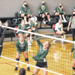 Fall leaves turn Green: Lady Bobcats rally, down Lady Tigers in five sets