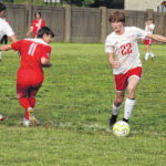 Easy as 1-2-3: Minford's Miller nets first career hat trick in win over New Boston