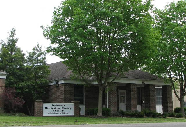 The Portsmouth Metropolitan Housing Authority houses 3,300 people in Scioto and Lawrence counties. Courtesy of PMHA.