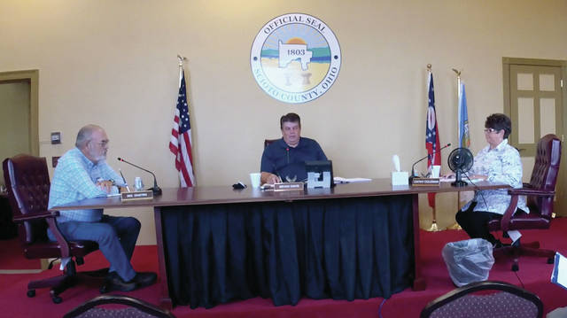 The Scioto County Commissioners held their regularly scheduled Thursday meeting at the County Courthouse.