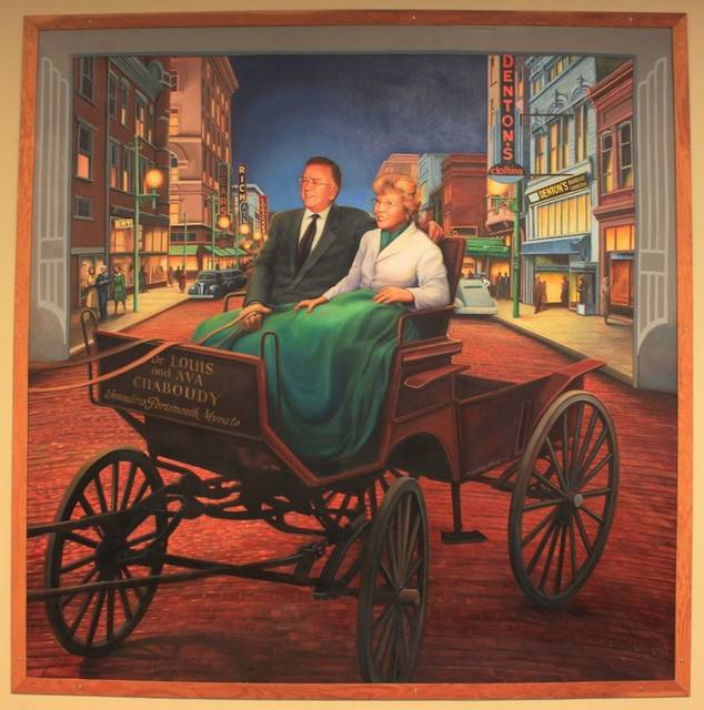 Dr. Louis and Ava Chaboudy, Founders, Portsmouth Murals
