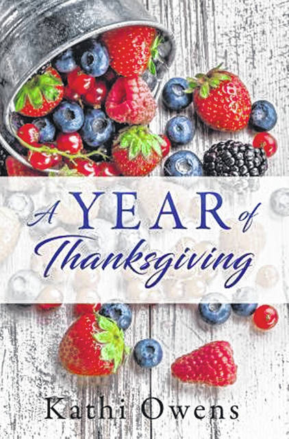 A copy of the book, 'A Year of Thanksgiving'