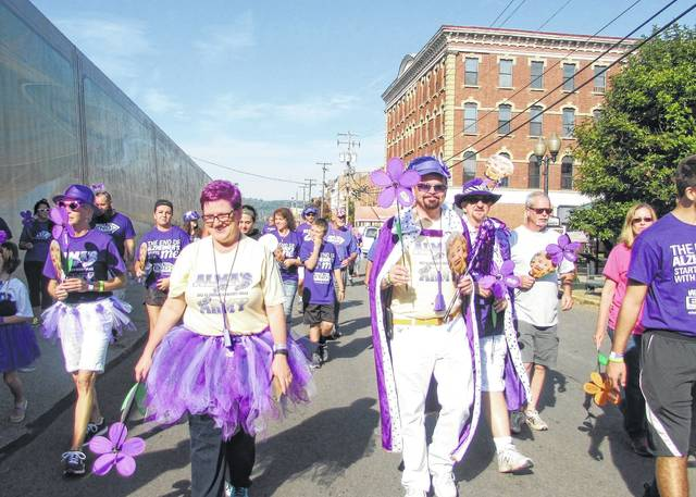 The Alzheimer's Association is not gathering a large crowd because of COVID-19 restrictions, but participants are encouraged to walk individually in their neighborhoods to join the movement.