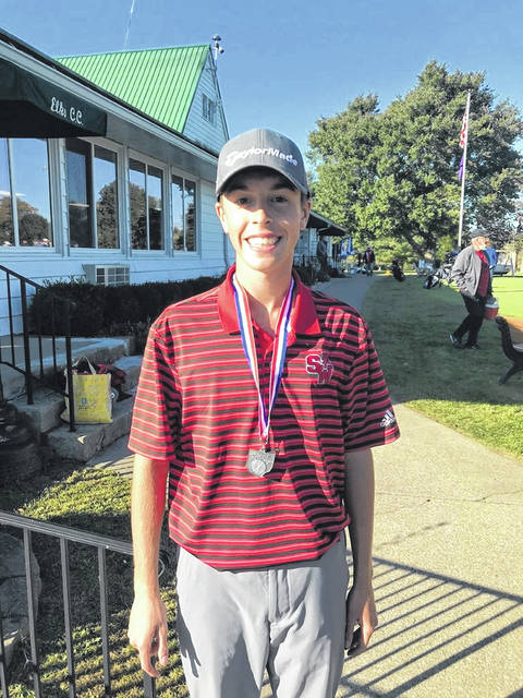 South Webster junior Gavin Baker finished in second place out of 60 qualifying golfers at the 2020 Division III Southeast District golf tournament held at The Elks Country Club on Monday.
