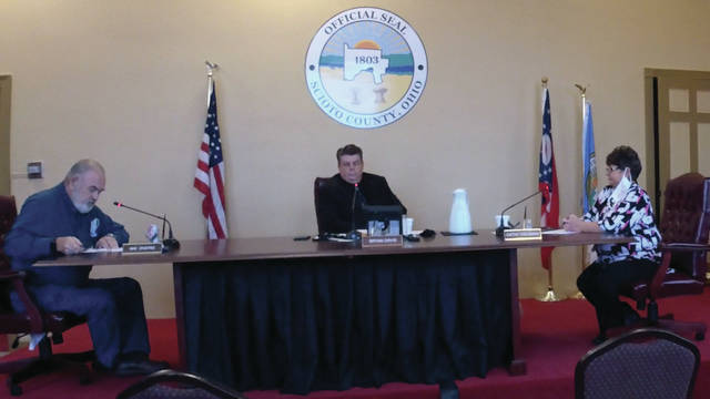 The Scioto County Commissioners decided after mulling over its options to ultimately approve Sheriff Marty Donini's request for funds, resulting in $9,888 in jail operation salaries and $12,500 into road patrol Public Employee Retirement System to go to his office.
