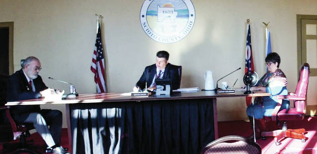 The Scioto County Commissioners held their regularly scheduled Thursday session, reviewing and passing all 14 items on its agenda.