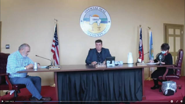 The Scioto County Commissioners held its regularly scheduled Thursday meeting.