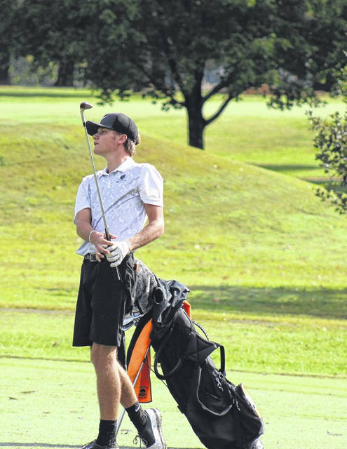 Wheelersburg senior Trevin Mault fired a 74 to capture match medalist honors at Wednesday's Division II Southeast District boys golf tournament at Crown Hill Golf Club. Mault qualified for the Division II state tournament as a result.
