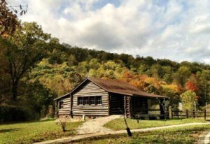 CCC Cabin at Shawnee State Park