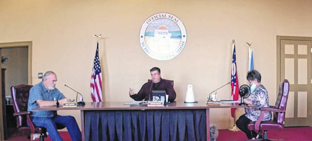 The Scioto County Commissioners announced the two contractors who will be working on updating HVAC systems and the faucets in county buildings during its Tuesday, Nov. 10 meeting. Photo by Patrick Keck.