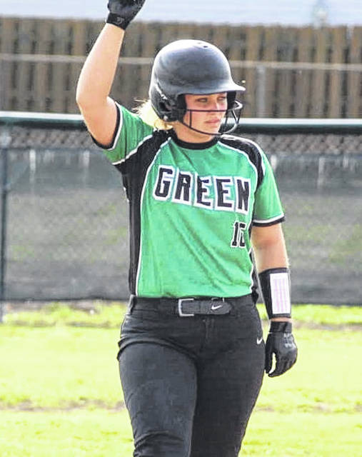Former Green High School standout catcher Rachel Cline has announced her intention to play college softball for Shawnee State University.