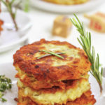 Serve potato pancakes for holiday celebrations