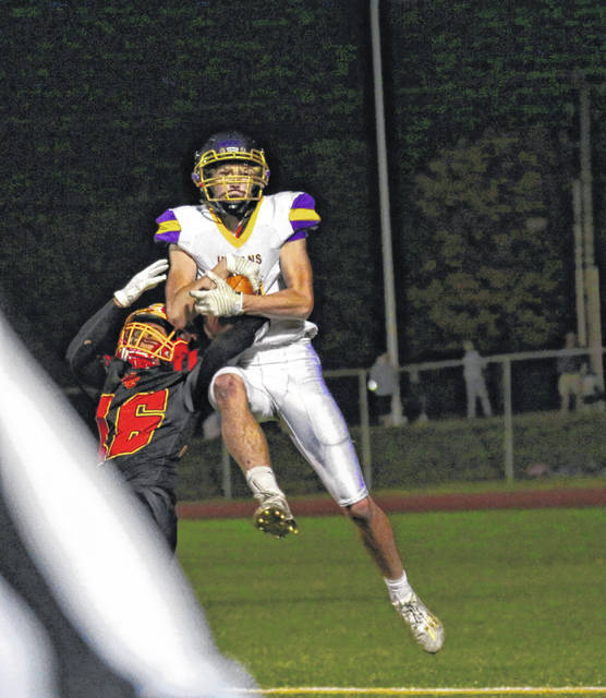 Valley wide receiver Ty Perkins repeated to the all-Southeast District Division VI football first team as announced on Saturday.