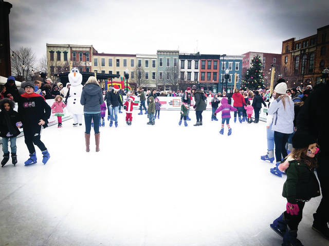 File Photo: Residents take advantage of the Winterfest Ice Rink during last year's festival.