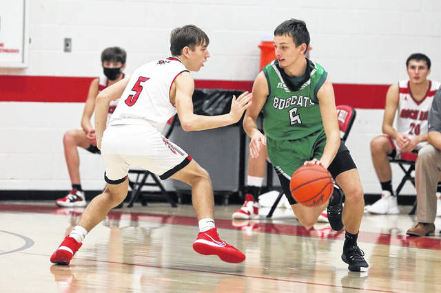 Green senior Ethan Huffman scored 17 points on six made field goals and 5-of-6 foul shooting in the Bobcats' 71-55 road loss to Rock Hill in non-league play on Saturday.