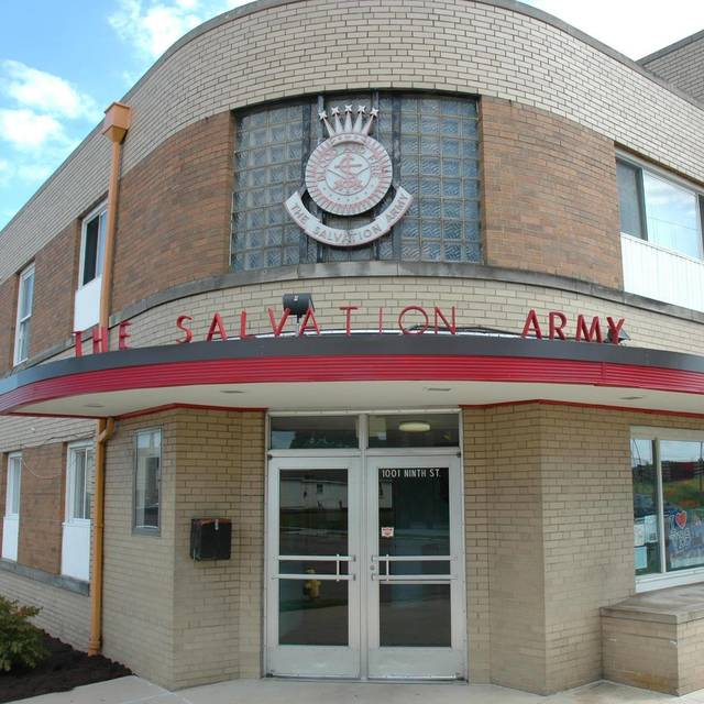 The Salvation Army, located at 1001 9th Street.