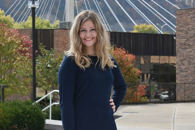Abby Blankenship assists new students and their family with their first visit to campus as an enrolled student. She helps lead tours, answer questions, and share SSU traditions and history.