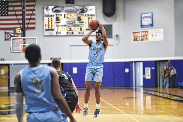 Shawnee State junior Amier Gilmore posted an 11-point, 15-rebound double-double in the Bears' 74-73 home win over No. 6 Georgetown College in Mid-South Conference play.