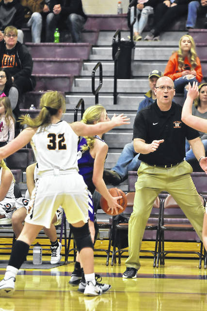 Wheelersburg girls basketball coach Dusty Spradlin earned his 300th career coaching victory in the Lady Pirates' 62-43 home win over Portsmouth West on Thursday.