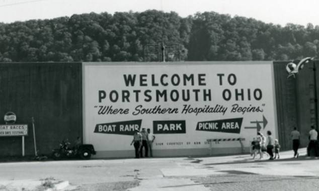 One of the slogans that the city of Portsmouth was known by in the '60s, 'Where Southern Hospitality Begins'
