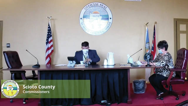 Scioto County Commissioners hold their annual Organizational Meeting, Monday, Jan. 11 2021