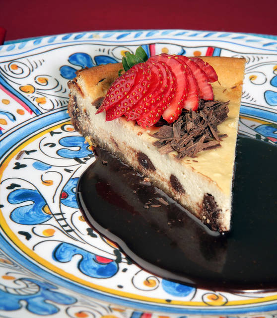 Ricotta Cheesecake With Coffee and Chocolate
