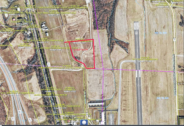 The Scioto County Commissioners announced development plans for a business park, located next to the Greater Portsmouth Regional Airport.