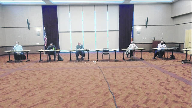Portsmouth City Council convened on Monday night at Shawnee State University, its final session of the month. Photo by Patrick Keck.