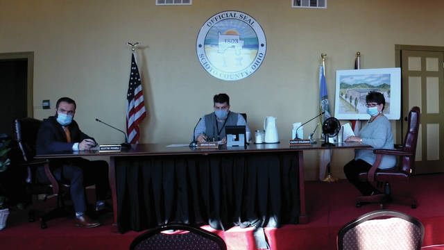 During a regularly scheduled meeting Thursday, the Scioto County Commissioners heard from Scioto County Sheriff David Thoroughman about signing off on an agreement with the Fraternal Order of Police.
