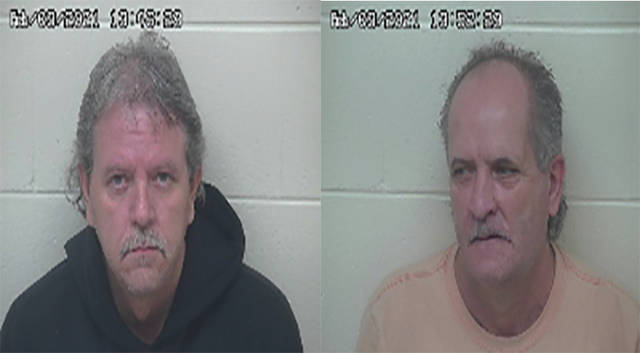 (Left) Larry Stapleton (Right) Robert Blanton