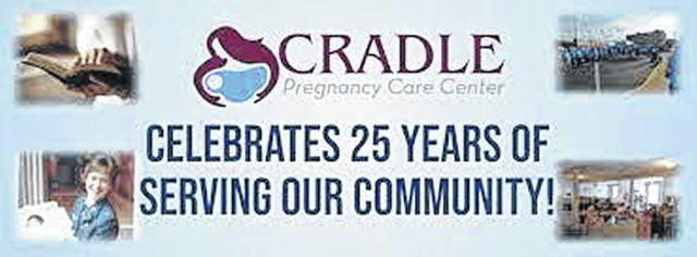 This is CRADLE'S 25th year and right now they are holding their diaper drive.
