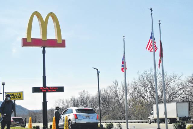 The prevalence of fast food restaurants in Scioto County, like this McDonald's off of State Route 23, while healthier options are less abundant perhaps play a role in the above averages of obesity in local areas. Photo by Patrick Keck.