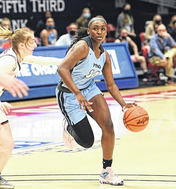 Mount Notre Dame junior KK Bransford was named the 2021 Ohio Ms. Basketball by the Ohio Prep Sportswriters Association.