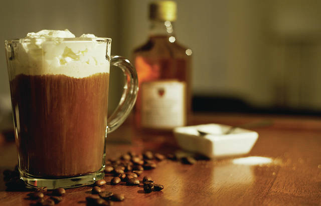 The origins of Irish coffee are sometimes debated, though many historians trace the beverage to a stormy night in Ireland. One fateful night in 1943, Irishman Joe Sheridan was called back to work at the restaurant and coffee shop at the Foynes Airbase Flying Boat terminal in County Limerick.