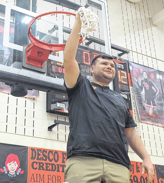 West first-year head coach Caleb McClanahan captured the Division III Southeast District boys basketball Co-Coach of the Year honors, as chosen by the Ohio Prep Sports Writers Association.