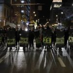 Protests over man shot dead at hospital reach police station