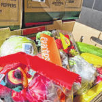 CAO Scioto holding food box event