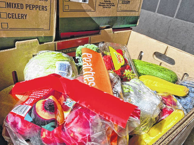 The Community Action Organization will be distributing food boxes Wednesday morning for Scioto County residents from Spartan Municipal Stadium.