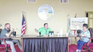 Bridges, broadband, water treatment detailed in Commissioners